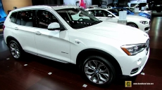 2015 BMW X3 28d xDrive at 2014 New York Auto Show