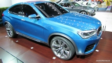 2015 BMW X4 Concept at 2013 Los Angeles Auto Show