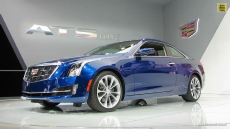 2015 Cadillac ATS Coupe at 2014 Detroit Auto Show