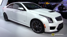 2015 Cadillac ATS-V Coupe at 2014 Los Angeles Auto Show