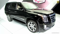 2015 Cadillac Escalade at 2014 Detroit Auto Show