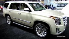 2015 Cadillac Escalade at 2014 Chicago Auto Show