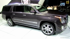 2015 Cadillac Escalade at 2013 Los Angeles Auto Show