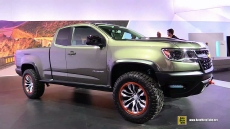 2015 Chevrolet Colorado ZR2 at 2014 Los Angeles Auto Show