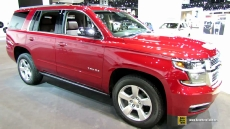 2015 Chevrolet Tahoe LTZ at 2014 Chicago Auto Show