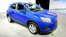 2015 Chevrolet Trax LT at 2014 New York Auto Show