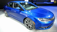 2015 Chrysler 200 S AWD at 2014 Detroit Auto Show