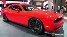 2015 Dodge Challenger SRT Hellcat at 2014 Los Angeles Auto Show