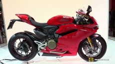 2015 Ducati 1299 Panigale S at 2014 EICMA Milan Motorcycle Exhibition