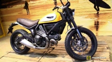 2015 Ducati Scrambler Classic at 2014 EICMA Milan Motorcycle Exhibition