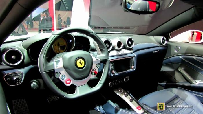 Net car show 2015 ferrari california white pictures 2017 for Ferrari california t interieur