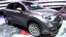 2015 Fiat 500X at 2014 Paris Auto Show