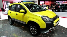 2015 Fiat Panda Cross at 2014 Geneva Motor Show