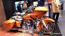 2015 Harley-Davidson Touring Road Glide Special at 2014 EICMA Milan Motorcycle Exhibition