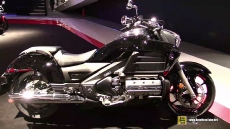 2015 Honda Gold Wing F6C at 2014 EICMA Milan Motorcycle Exhibition