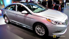 2015 Hyundai Sonata Limited at 2014 New York Auto Show