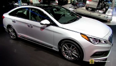 2015 Hyundai Sonata Sport 2.0T at 2014 New York Auto Show