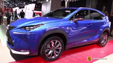 2015 Lexus NX300h F-Sport at 2014 Paris Auto Show
