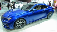 2015 Lexus RC-F at 2014 Detroit Auto Show