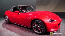 2016 Mazda MX-5 Miata at 2014 Paris Auto Show