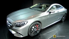 2015 Mercedes-Benz S-Class S63 AMG Coupe at 2014 New York Auto Show
