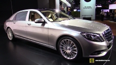 2015 Mercedes-Benz Maybach S600 at 2014 Los Angeles Auto Show