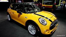 2015 Mini Cooper S at 2014 Detroit Auto Show
