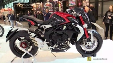 2015 MV Agusta Dragster RR at 2014 EICMA Milan Motorcycle Exhibition