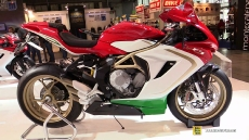 2015 MV Agusta F3 800 Ago at 2014 EICMA Milan Motorcycle Exhibition
