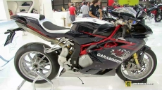 2015 MV Agusta F4 Carabinieri Edition at 2014 EICMA Milan Motorcycle Exhibition
