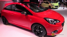 2015 Opel Corsa Turbo OPC Line at 2014 Paris Auto Show