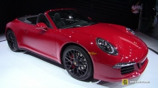 2015 Porsche 911 Carrera GTS Convertible at 2014 Los Angeles Auto Show