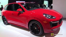 2015 Porsche Cayenne GTS at 2014 Los Angeles Auto Show