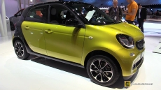 2015 Smart ForFour Passion at 2014 Paris Auto Show