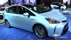 2015 Toyota Prius V Five at 2014 Los Angeles Auto Show