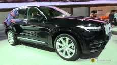 2015 Volvo XC90 Plug-in Hybrid at 2014 Los Angeles Auto Show