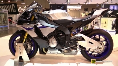 2015 Yamaha YZF-R1 M at 2014 EICMA Milan Motorcycle Exhibition