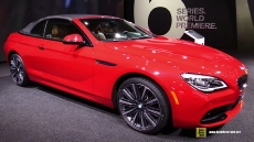 2016 BMW 650i Convertible at 2015 Detroit Auto Show