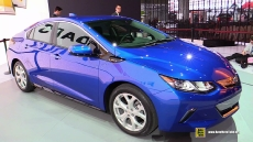 2016 Chevrolet Volt Electric Vehicle at 2015 Detroit Auto Show
