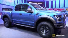 2016 Ford F150 Raptor at 2015 Detroit Auto Show