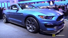 2016 Ford Mustang Shelby GT350R at 2015 Detroit Auto Show