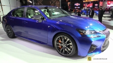 2016 Lexus GS-F at 2015 Detroit Auto Show