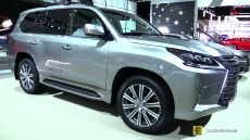 2016 Lexus LX570 at 2016 Detroit Auto Show