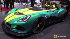 2016 Lotus 3 Eleven at 2016 Geneva Motor Show