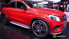 2016 Mercedes-Benz GLE-Class GLE45 AMG Coupe at 2015 Detroit Auto Show