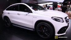 2016 Mercedes-Benz GLE-Class GLE63 AMG S Coupe at 2015 Detroit Auto Show