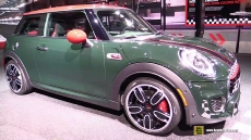 2016 Mini John Cooper Works Hardtop at 2015 Detroit Auto Show