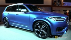 2016 Volvo XC90 T6 AWD R-Design at 2015 Detroit Auto Show
