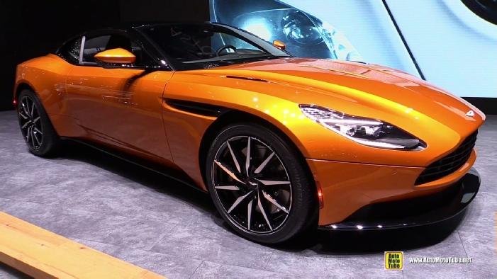 2017 Aston Martin Db11 At 2016 Geneva Motor Show