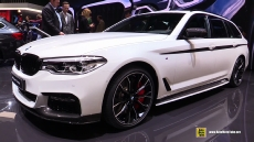 2017 BMW 520d Touring at 2017 Geneva Motor Show